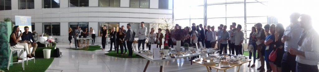 Retail Connect foule de personnes qui ont participé à l'événement
