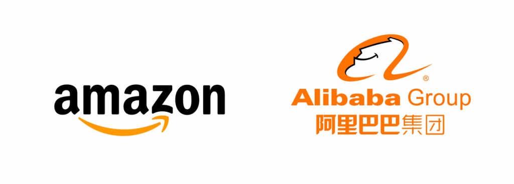 Amazon VS Alibaba Commerce de détail chinois vs retail USA